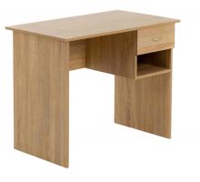 Маленький компьютерный стол, цвет светло-коричневый, стиль - современный
