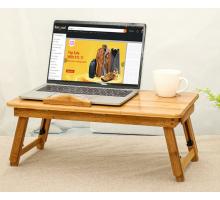 Маленький компьютерный стол, цвет желтый, стиль - современный