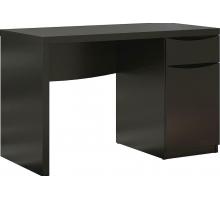 Маленький компьютерный стол, цвет черный, стиль - классический
