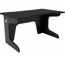 Геймерский компьютерный стол, цвет черный, стиль - современный