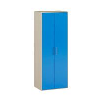 Шкаф купе в детскую,цвет - Дуб / Синий, современный