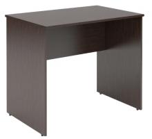 Высокий письменный стол, цвет темно-коричневый, стиль - современный