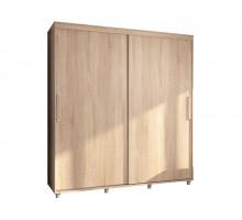 Встроенный шкаф-купе Эконом, цвет - светлый, стиль - современный