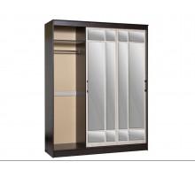 Корпусный шкаф-купе, цвет - венге, стиль - современный