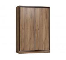 Корпусный шкаф-купе Домашний, цвет - дуб табачный, стиль - современный