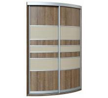 Угловой шкаф-купе Бургус, цвет - многоцвет, стиль - современный