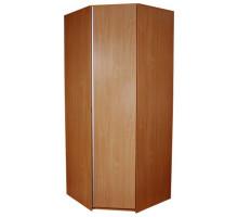 Угловой шкаф-купе Премиум, цвет - вишня, стиль - современный
