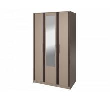 Распашной шкаф-купе Кремона, цвет - венге, стиль - современный