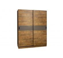 Шкаф-купе в офис, цвет- таксония медовая, стиль- лофт