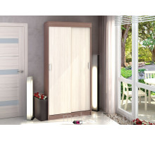 Шкафы-купе в офис, цвет- ясень шимо-светлый, стиль- классический