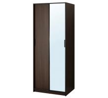 Шкаф-купе для одежды Трисил, цвет - венге, стиль - хай-тек