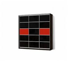 """Шкаф-купе """"Стандарт КР"""", цвет - черный, стиль - современный"""