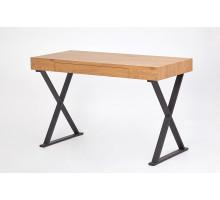 Письменный стол Chicago, цвет - дикий дуб/черный, стиль - современный