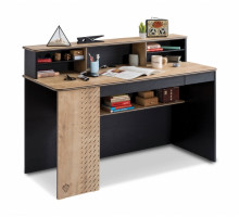 Письменный стол Cilek, цвет - черный, стиль - современный