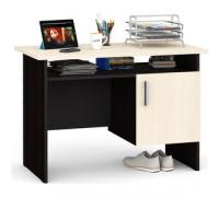 Стол письменный С-МД-1-01, цвет - черный/белый, стиль - современный