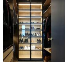 Универсальная гардеробная система , цвет - галифакс натуральный, стиль - современный