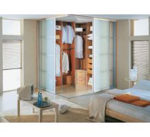 Модульная гардеробная система Дели-6, цвет - Ясень Шимо, стиль - современный