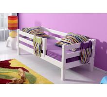 Детская кровать для девочки, цвет- белый, стиль- современный