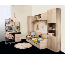 Детская мебель для девочки, цвет- дуб сонома, стиль- классический