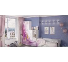 Детская комната для девочки, цвет- белый, стиль- сказочный