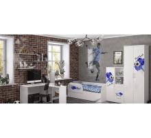 Детская комната для мальчика, цвет-белый, стиль- современный