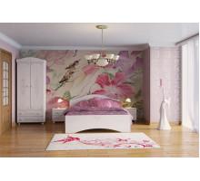 Детская комната для девочки, цвет- белое дерево, стиль-современный