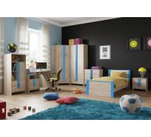 Детская комната, цвет- дуб бонифаций, стиль- современный