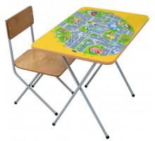 Фея Комплект детской мебели Досуг №301, цвет - жёлтый, стиль - современный