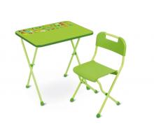 Комплект Nika Алина (КА2), цвет - зелёный, стиль - современный