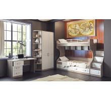 Детская комната Прованс 5, цвет - черный/кремовый, стиль - модерн