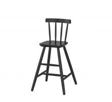 АГАМ, детский стул, цвет - черный, стиль - современный