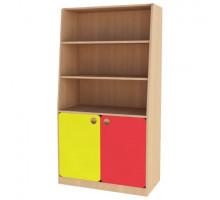"""Шкаф для игрушек детский, цвет - бук """"Бавария"""", стиль - современный"""