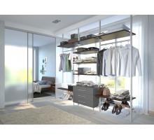 Гардеробная Гранада, цвет -белый, стиль - современный
