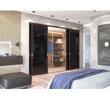 Гардеробная комната, цвет - дуб Торонто, стиль - современный