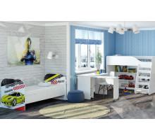 Детская комната Тойс.Champion, цвет - белый, стиль - современный