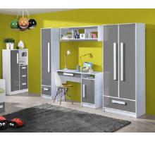 Детская комната Гуливер, цвет - пепельный, стиль - современный