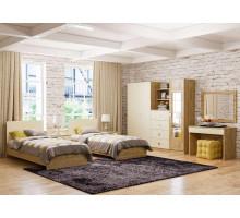 Детская комната Анастасия, цвет - дуб роше, мисандея стоун, стиль - современный
