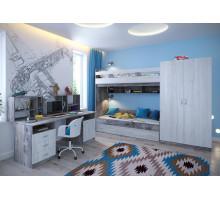 Детский комплекс Ярофф Юта, цвет - винтерберг, бетон, стиль - современный