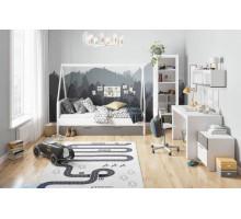 Детская комната Szynaka: Picolo, цвет - серый, белый, стиль - современный