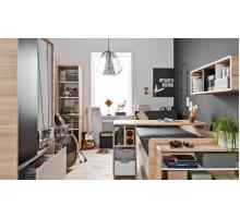 Детская комната Vox Evolve - 1, цвет - серый, черный, светлый дуб