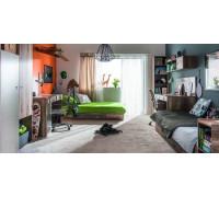Детская комната Vox: Voyager №3, цвет - дуб, серый, стиль - современный