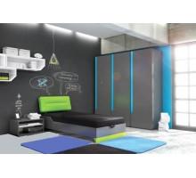 Детская комната Timoore Beep, цвет - графит, стиль - современный