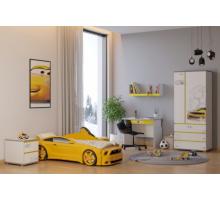 Детская комната Bumble Bee edition, цвет - белый, желтый, стиль - современный