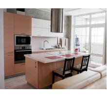 Кухня Майя, цвет - бежевый, светлый, стиль - модерн