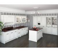 Кухня Маргарита, цвет - слоновая кость, стиль - модерн