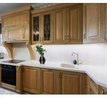 Кухня Анна Каренина маленькая, цвет - натуральный, стиль - классический