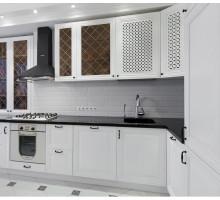 Кухня Дженнифер маленькая, цвет - белый, стиль - классический