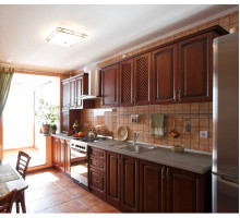 Кухня Королева Марго классическая, цвет - коричневый, стиль - классический