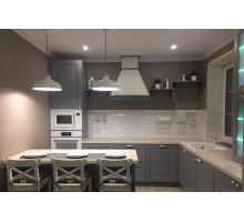 Кухня Аран прованс, цвет - серый