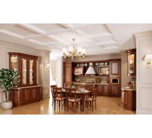 Кухня Асти прованс, цвет - коричневый